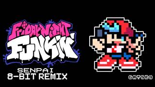 Friday Night Funkin' - Senpai 8-bit Remix