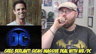 Greg Berlanti Signs Massive WB/DC Contract!!!
