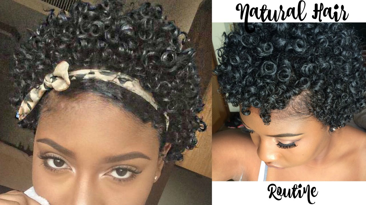Updated Natural Hair Routine 3b 3c Hair Youtube