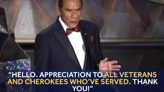 Oklahoma Native Wes Studi Thanks Veterans In Cherokee Language At The Oscars