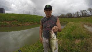 Bass fishing (Houston Bayou Bass) 1080p HD