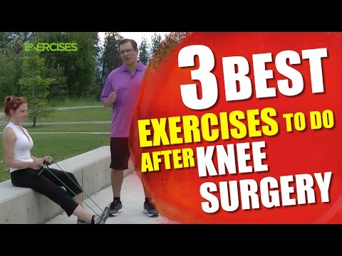 Best Exercises To Do After Knee Surgery