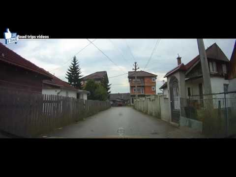 ROAD TRIP: driving in a small town in south-west Serbia / SJENICA