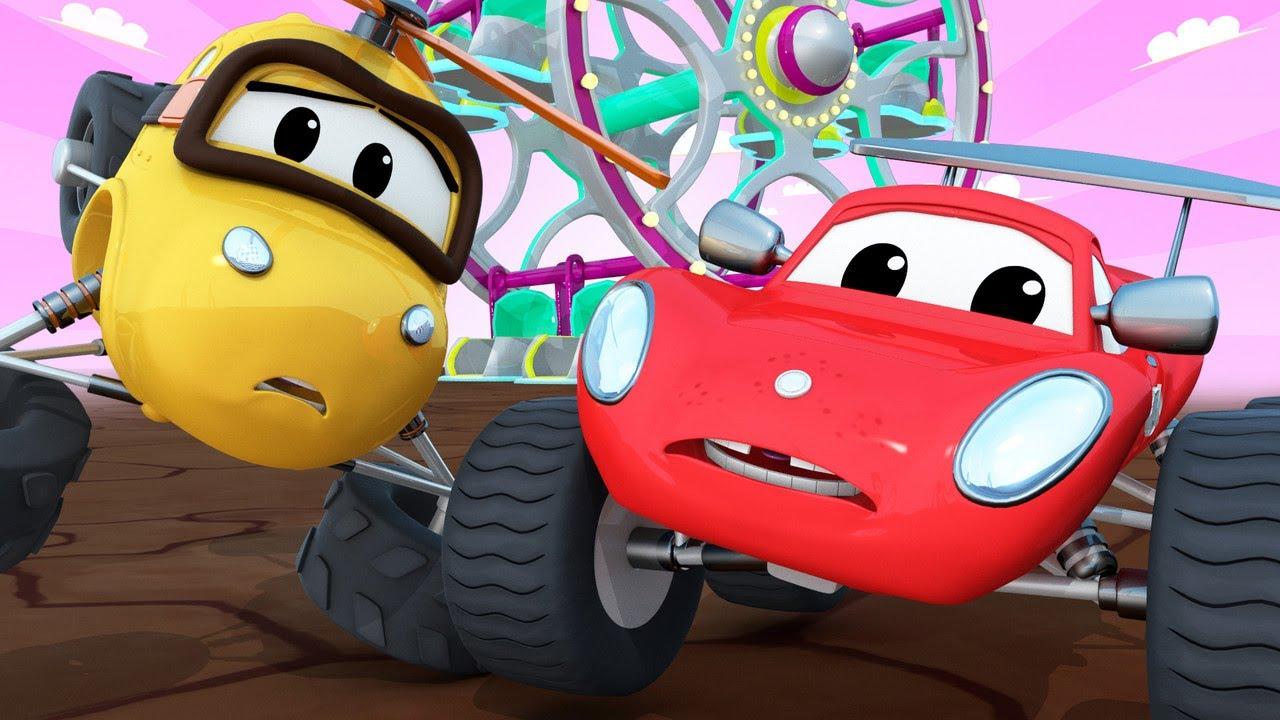 La Rueda de la Fortuna fuera de control!   Maverick Ciudad Monstruo   Car City World App