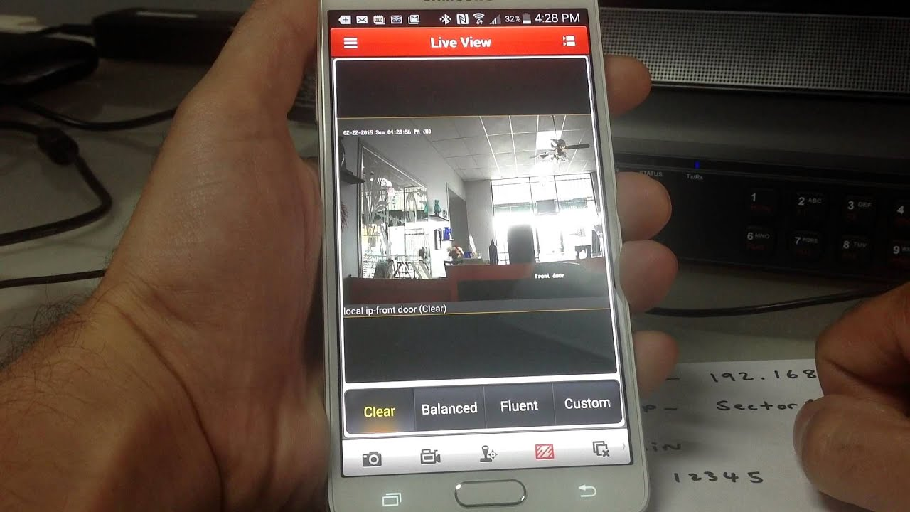 how to download and setup NVMS7000 application on your cellphone for  platinum dvr