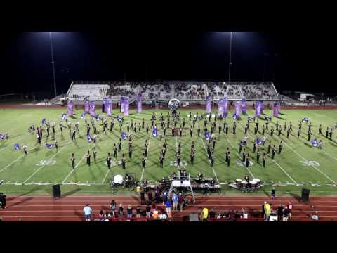 """Tullahoma High School Marching Band, September 9, 2016, """"Interstellar Journey"""" TOP View"""