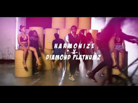 Harmonize Ft Diamond Platnumz - Kwangwaru (Behind The Scene Part 1)