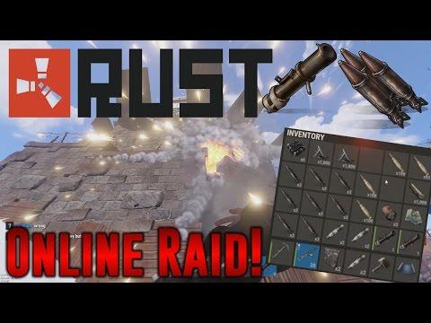 ~Rust~ Crazy Online Raid!