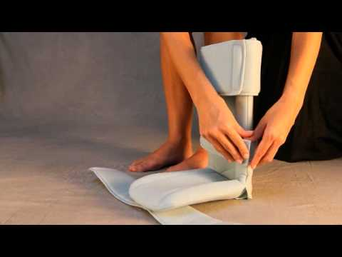 FootSmart Passive Night Splint - YouTube