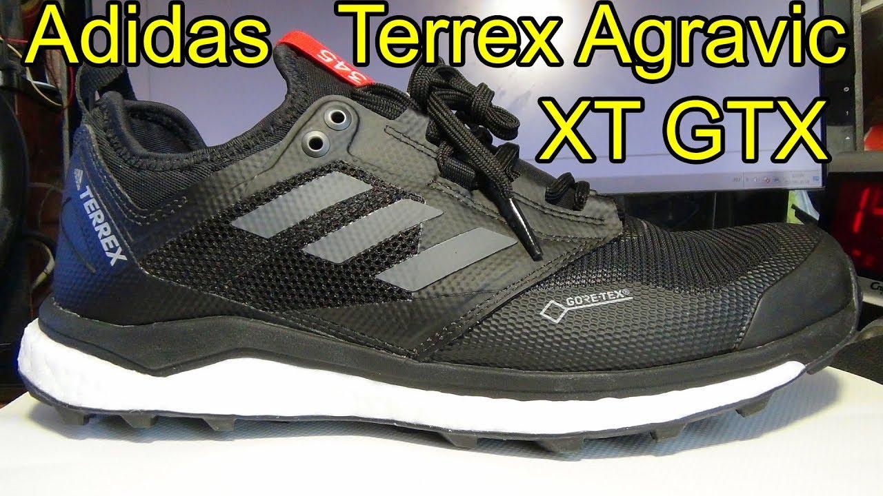 b0d44d7b02eb Adidas Terrex Agravic XT GTX кроссовки обзор - YouTube