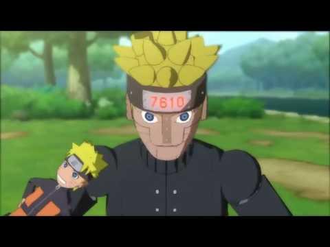 Naruto  - Hinata y Mecha Naruto - henta