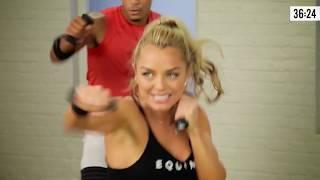 45-минутная кардио-боксерская тренировка