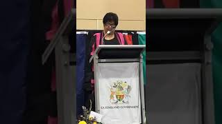Queensland State Funeral Dr. Bonita Mabo - Welcome to country by Prof. Gracelyn Smallwood (Nov.2018)