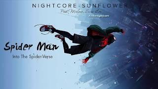 Sunflower - Nightcore Post Malone, Swae Lee - Spider-Man Into the Spider-Verse