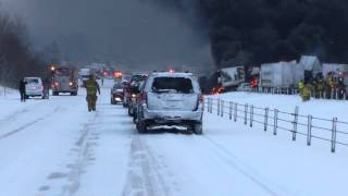 I 94 deadly accident near Battle Creek MI 01-09-15