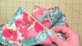 Sewing A Facing With Zipper Opening