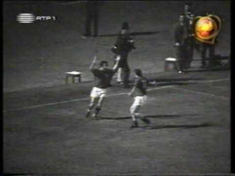 Portugal-Escócia 2-0 EURO 72 (Eusébio)