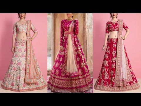 Latest Top Silk Lehenga Choli Design || Most Beautiful Silk Lehenga Choli Collection