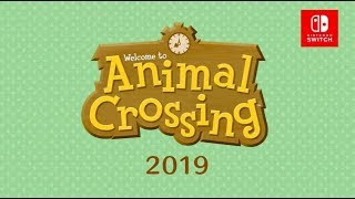 Animal Crossing announced for Nintendo Switch for 2019