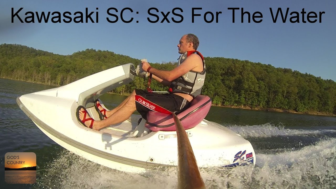 Kawasaki Sc Side By Side Jet Ski