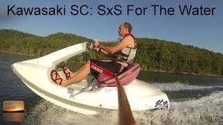 Kawasaki SC Jetski - Side-By-Side For The Water!