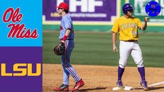 #15 Ole Miss vs #14 LSU Highlights (INSANE GAME!) | 2019 College Baseball Highlights