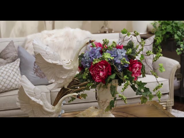 Custom Boutique Silk Floral Arrangements for Decorating Your Home