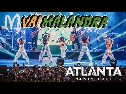 Anitta VAI MALANDRA ao vivo no Atlanta  Hall em Goiânia 09122018