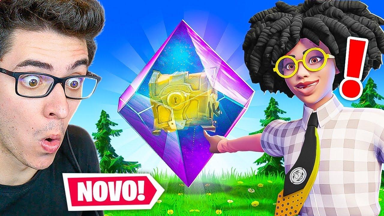 O NOVO BAÚ SUPER RARO DA NOVA TEMPORADA DO FORTNITE!
