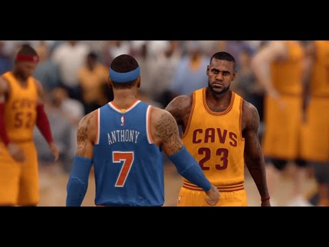 NBA LIVE 16 - New York Knicks vs Cleveland Cavaliers - Full Game - NBA 2015 - HD