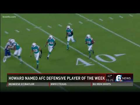 Howard named AFC Defensive Player of the week