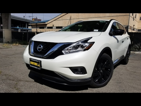 2017 Nissan Murano Platinum w Technology Package in 4K
