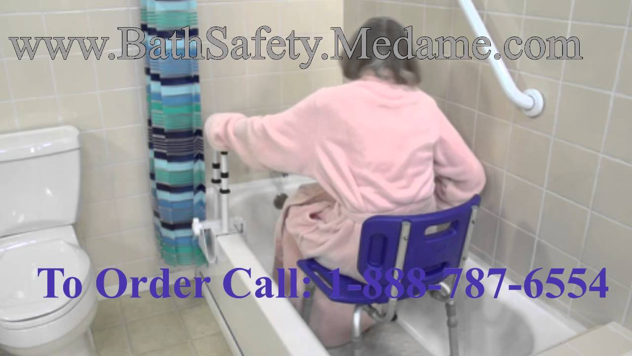 white shower chair for elderly bathroom safety youtube