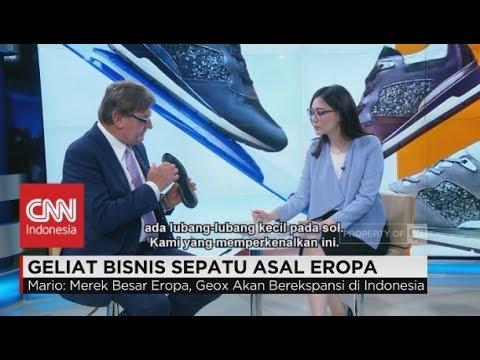 Geliat Bisnis Sepatu