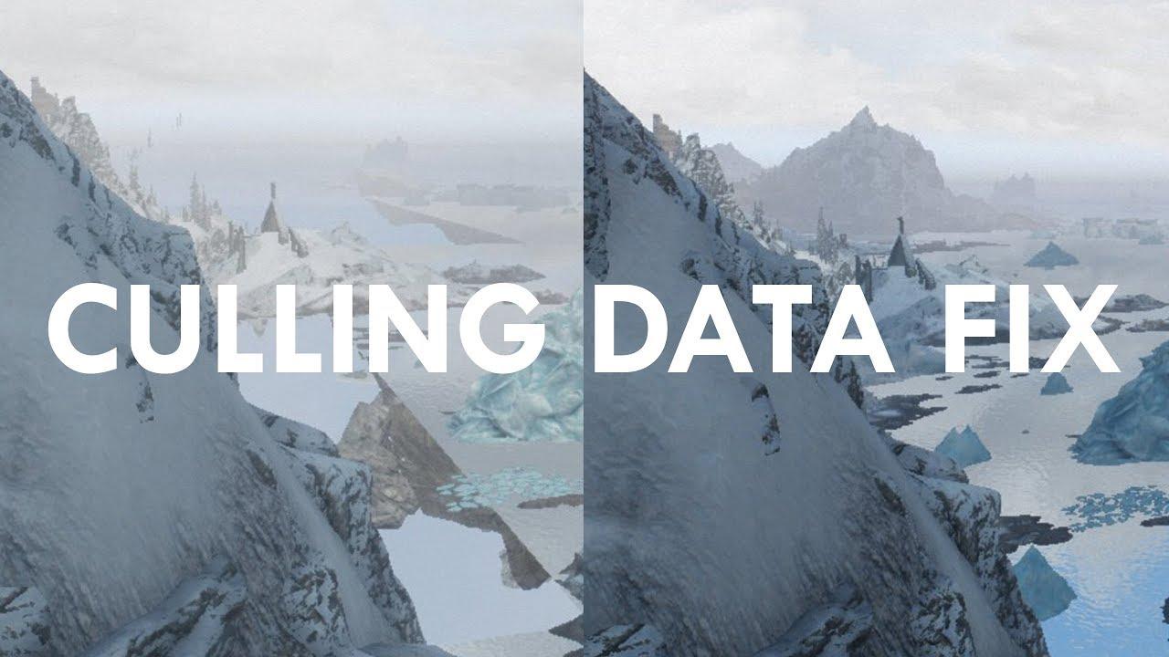 Essential Skyrim Mod: Culling Data Glitch Fix by Nico coiN