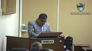 3ª Sessão Ordinária - Vereador Ademir Massa