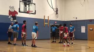 Jr Terps vs Team 4/Johnson -Marvin and Joel Guthrie Coach FritZ