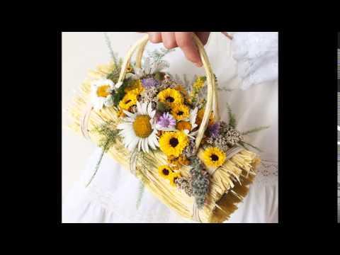 Нежные женские сумочки с цветами. Необычные сумки с живыми цветами .