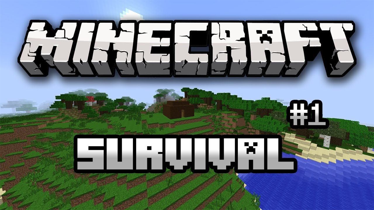 Minecraft Survival Season 1 Ep 1 Getting Started Youtube