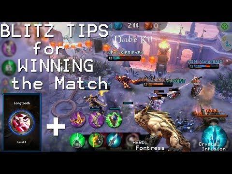 Vainglory - Blitz Tips