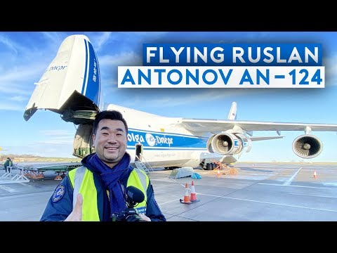 Incredible Flight On Antonov AN-124 Cargo Transporter