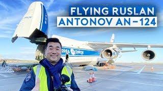Incredible Flight on Antonov AN-124 Cargo Transporter