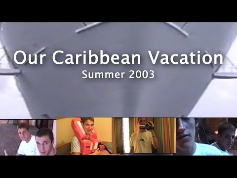 Our Caribbean Vacation (2003) Fun RETRO Out & About!