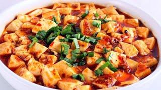 麻婆豆腐家常做法,學會這三點,好吃嫩滑不破碎,味道正宗一點也不輸飯店【隨手做美食】