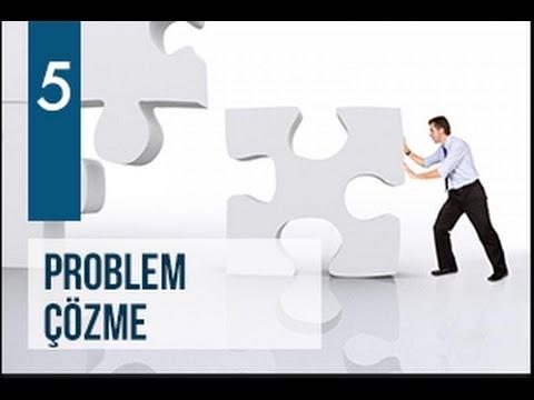 AK Parti Siyaset Akademisi UZEM 5 - Problem Çözme