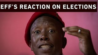 EFF Leader, Julius Malema says he wants to express his gratitude to the 1.8 Million voters who cast their votes for the Party.