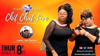 Chit Chat Live | April 5, 2018 | Guest, Joe Seales with Right Side Broadcasting Network
