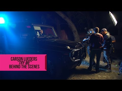 CARSON LUEDERS & ROCK YOUR HAIR - TRY ME - BEHIND THE SCENES