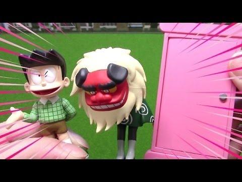 ドラえもん UDF スネ夫・どこでもドア・オシシ仮面 ~ Doraemon Figure Suneo・Anywhere door・Oshishi Kamen