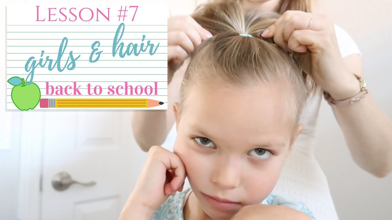 Quick Simple Hairstyles Back To School 2017
